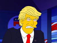 """Главные герои """"Симпсонов"""" решили голосовать за Клинтон на президентских выборах в США"""