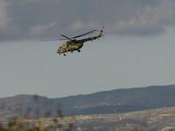 Российский вертолет сбросил гуманитарный груз в кварталы Алеппо, удерживаемые боевиками
