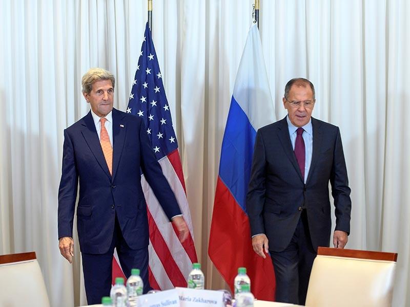 Лавров и Керри взяли паузу после десятичасовых переговорах по Сирии