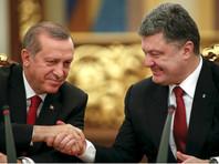 Эрдоган отказывается признавать Крым российским, заявил Порошенко