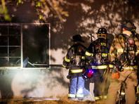 В американском штате Мэриленд произошел сильный пожар после взрыва в жилом доме, пострадали более 30 человек