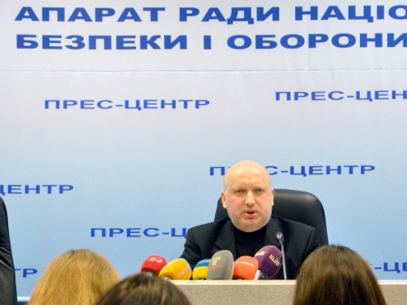 """Александр Турчинов назвал заявление ФСБ """"провокационным бредом"""""""