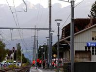 В Швейцарии умер нападавший на пассажиров поезда и одна из его жертв