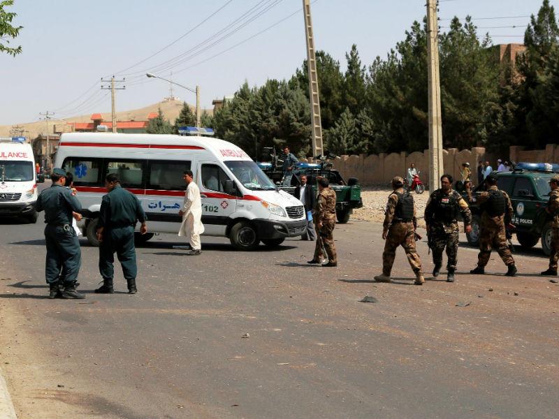 Заминированный грузовик взорвался возле гостиницы Northgate в Кабуле