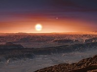 Планета Проксима b в 1,3 раза тяжелее Земли. Хотя она находится на расстоянии около семи с половиной миллионов километров (0,05 астрономических единиц), она расположена в так называемой зоне обитаемости звезды - на орбите, где может быть вода в жидкой фазе