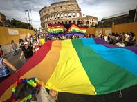 Первый однополый союз в Италии заключили журналисты