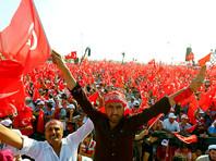Митинг в поддержку Эрдогана в Турции собрал до миллиона человек