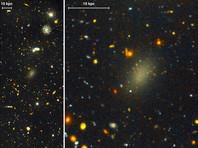 Астрономы обнаружили, что галактика Dragonfly 44 в созвездии Волосы Вероники на 99,99% состоит из темной материи