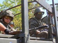 Украинские военные начали маневры на границе с Крымом