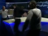 Кандидаты в парламент Грузии во время дебатов в эфире ток-шоу устроили драку (ВИДЕО)