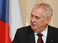 Крым не может быть возвращен в состав Украины, считает президент Чехии