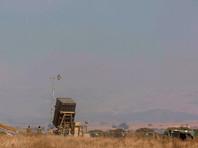 Израильская система ПРО впервые перехватила сирийскую ракету над Голанскими высотами