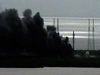 На мысе Канаверал во время тестирований взорвалась ракета-носитель Falcon 9