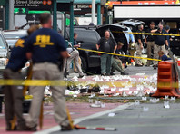 Взрыв в Нью-Йорке прогремел на Манхэттене вечером в субботу, 17 сентября, в районе Челси на 23-й улице между 6-й и 7-й авеню. Пострадали 29 человек, один был госпитализирован в тяжелом состоянии