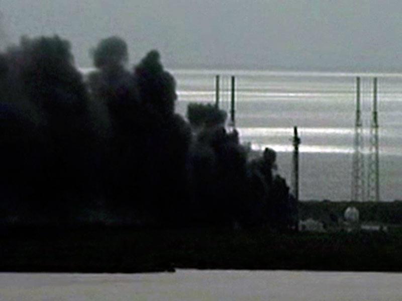 В американском штате Флорида на мысе Канаверал на стартовой площадке взорвалась ракета-носитель Falcon 9 компании SpaceX