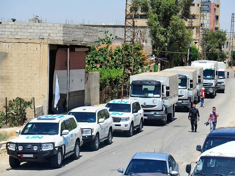"""""""Красный крест"""" отложил гуманитарные операции в четырех сирийских городах после обстрела гумконвоя"""