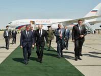 Путин прилетел в Самарканд почтить память Каримова