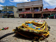 На юге Таиланда возле школы взорвался мотоцикл