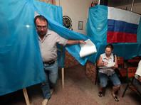 Президент Украины также подчеркнул важность непризнания результатов выборов в Госдуму в Крыму и Севастополе
