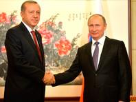 Путин в Ханчжоу выслушал благодарности Эрдогана за восстановление чартеров
