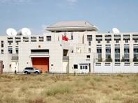 По данным ГКНБ, утром 30 августа 2016 года террорист-смертник на автомашине Mitsubishi Delika протаранил западные ворота посольства КНР в Бишкеке, въехал на территорию диппредставительства и привел в действие самодельное взрывное устройство большой мощности, установленное в машине
