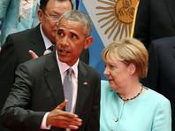 Обама встретился с Олландом и Меркель на саммите G20 в Китае и обсудил ситуацию на Украине