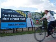 В Германии выступающая против мигрантов партия обошла на выборах ХДС Ангелы Меркель