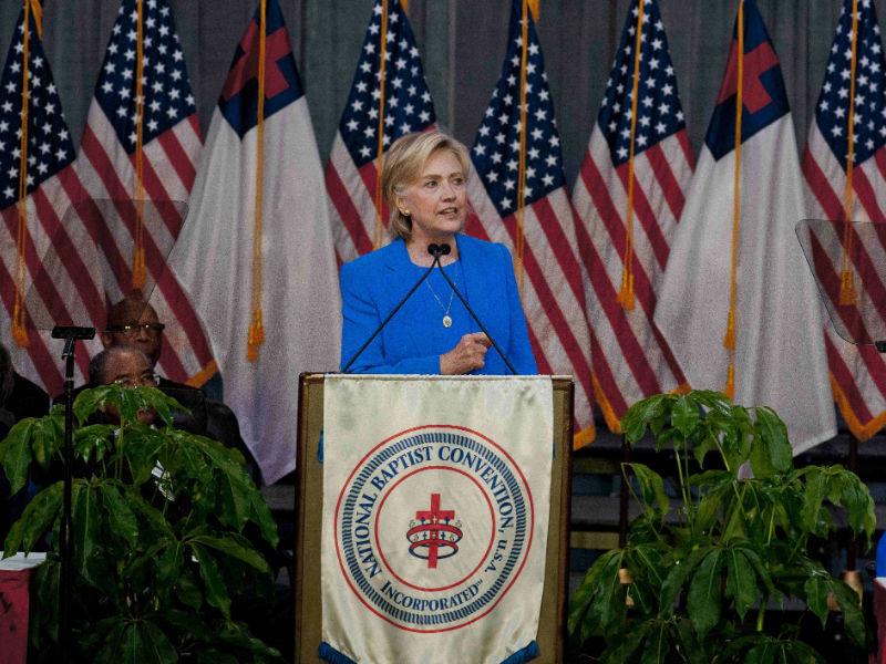 Врачи диагностировали у Хиллари Клинтон пневмонию