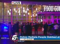 Мужчина с ножом напал на посетителей торгового центра в Миннесоте