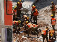 В Тель-Авиве рухнуло здание, есть жертвы