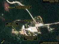 Северная Корея провела успешное наземное испытание нового ракетного двигателя