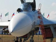 В Белоруссии в кювете оказался боевой самолет