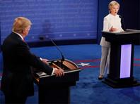 Трамп и Клинтон не пожали друг другу руки перед началом финальных дебатов