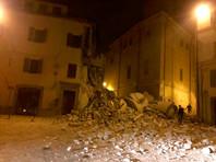 В Риме благодаря землетрясению трое преступников сбежали из тюрьмы
