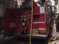 Пожар на рынке петард в Индии уничтожил 200 магазинов и 40 машин