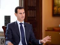 Асад назвал войну в Сирии прямым конфликтом между Россией и США