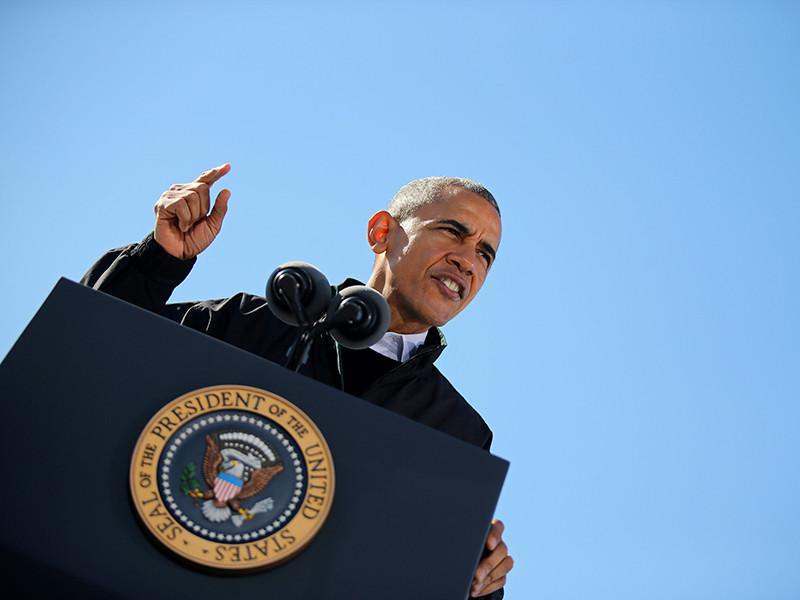 Президент США Барак Обама заявил, что поведение России нарушает международные нормы, она становится источником проблем других стран