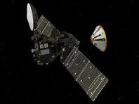 """Посадочный модуль Schiaparelli (""""Скиапарелли"""") российско-европейского проекта """"ЭкзоМарс-2016"""" совершает посадку на Марс"""