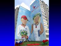 """В Минске """"исправили"""" граффити о дружбе города с Москвой, дорисовав колючую проволоку"""