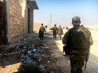 В Сирии трое российских офицеров получили ранения при обстреле боевиков