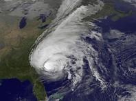 Ослабевший ураган Matthew бушует над территорией США