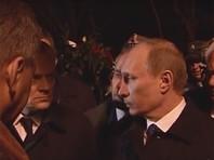 Польша обнародовала видеозапись встречи Путина с Туском после крушения самолета Качиньского