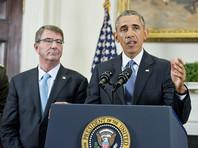 Бомбардировка велась по приказу президента США Барака Обамы и в соответствии с рекомендациями министра обороны Эштона Картера и главы Комитета начальников штабов ВС США генерала Джозефа Данфорда