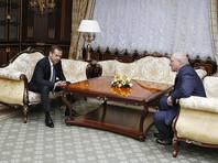 Лукашенко встретился с Медведевым и выразил обеспокоенность за судьбу СНГ и Евразийского экономического союза