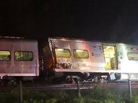 Поезд сошел с рельсов в пригороде Нью-Йорка, 29 человек пострадали