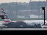 Пассажирский самолет загорелся при взлете в аэропорту Чикаго, 20 человек пострадали