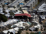 На Лесбосе беженцы сожгли офисы бюро по вопросам предоставления убежища, поторапливая их сотрудников