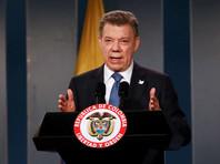 Президент Колумбии продлил режим прекращения огня с FARC до конца года