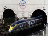 В туннеле под Ла-Маншем остановили движение поездов