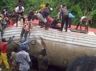 В Камеруне с рельсов сошел переполненный пассажирский поезд, более 50 погибших